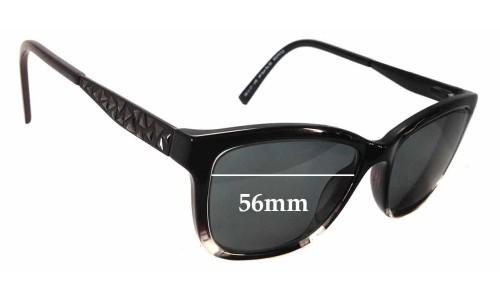 Sunglass Fix Sunglass Replacement Lenses for Alex Perry AP Sun Rx 30 - 56mm Wide