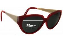 Sunglass Fix Sunglass Replacement Lenses for Alex Perry AP Sun Rx 12 - 55mm Wide