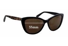 Sunglass Fix Sunglass Replacement Lenses for Alex Perry AP Sun Rx 23 - 55mm Wide