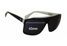 Sunglass Fix Sunglass Replacement Lenses for AM Eyewear Alex - 62mm Wide