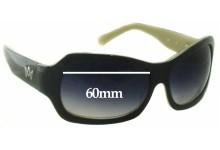 Sunglass Fix Sunglass Replacement Lenses for AM Eyewear Jojo - 60mm Wide
