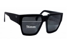 Sunglass Fix Sunglass Replacement Lenses for AM Eyewear Karmi - 56mm Wide