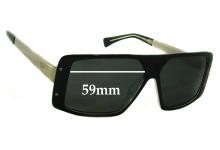 Sunglass Fix Sunglass Replacement Lenses for AM Eyewear Rick - 59mm Wide
