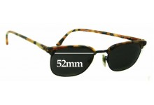 Sunglass Fix Sunglass Replacement Lenses for Anglo American Optical Mod 74 - 52mm Wide