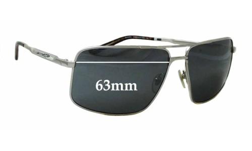 Sunglass Fix Sunglass Replacement Lenses for Arnette Bacon 3063 Sunglass Replacement Lenses - 63mm Wide