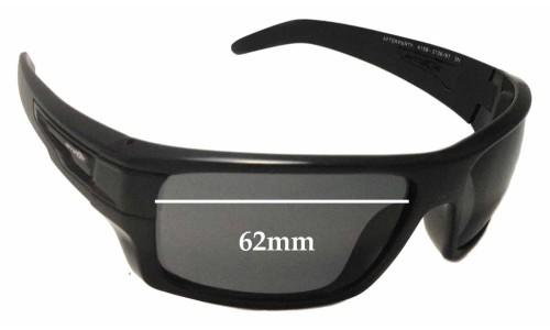 Sunglass Fix Sunglass Replacement Lenses for Arnette After Party AN4158 - 62mm Wide