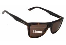 Sunglass Fix Sunglass Replacement Lenses for Arnette Agent AN4119 Sunglass Replacement Lenses- 52mm Wide