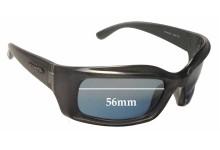 Sunglass Fix Sunglass Replacement Lenses for Arnette AN4045 - 56mm Wide
