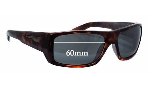 Sunglass Fix Sunglass Replacement Lenses for Arnette Munson AN4164 - 60mm wide