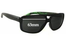Sunglass Fix Sunglass Replacement Lenses for Arnette Fat City AN4189 - 63mm Wide