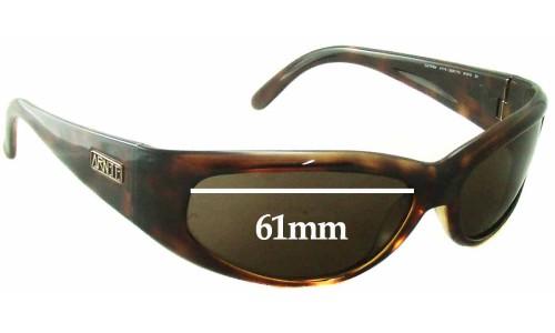 Sunglass Fix Sunglass Replacement Lenses for Arnette Catfish AN4174 - 61mm wide