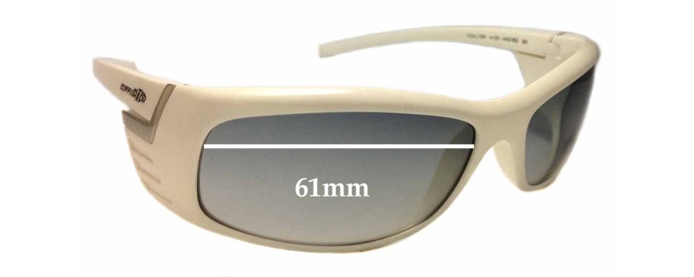 Sunglass Fix Replacement Lenses for Arnette Coaster AN4105  - 61mm Wide