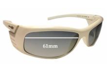 Sunglass Fix Sunglass Replacement Lenses for Arnette Coaster AN4105 - 61mm Wide