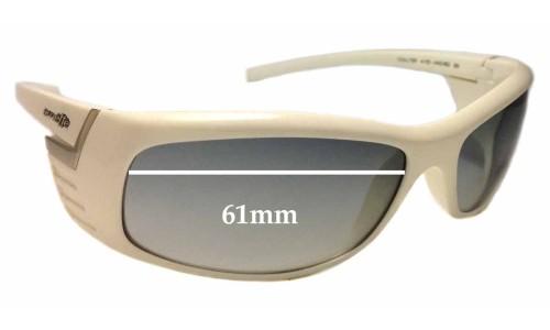 Sunglass Fix Sunglass Replacement Lenses for Arnette Coaster 4105 - 61mm wide