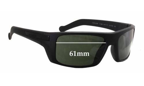 Sunglass Fix Sunglass Replacement Lenses for Arnette Conjure AN4198 - 61mm Wide