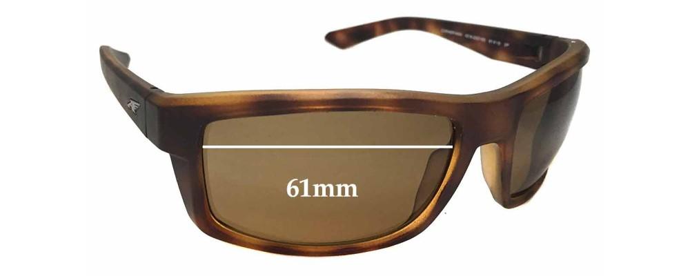 Sunglass Fix Sunglass Replacement Lenses for Arnette Corner Man AN4216 - 61mm Wide