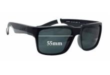 Sunglass Fix Sunglass Replacement Lenses for Arnette D Street AN4211 - 55mm Wide
