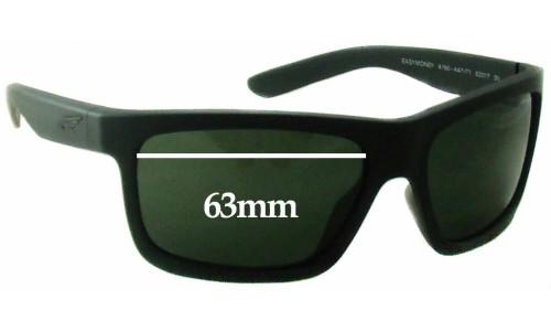 Sunglass Fix Sunglass Replacement Lenses for Arnette Easy Money AN4190 - 63mm Wide