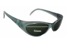 Sunglass Fix Sunglass Replacement Lenses for Arnette Falcon AN210 - 52mm Wide x 30mm Tall