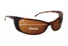 Sunglass Fix Sunglass Replacement Lenses for Arnette Gritty AN4008 - 65mm Wide