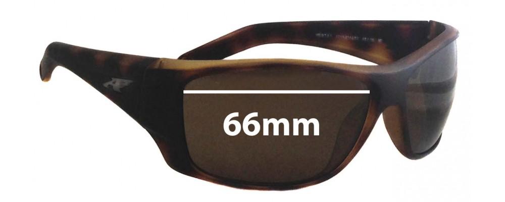 Sunglass Fix Sunglass Replacement Lenses for Arnette Heist 2.0 AN4215 - 66mm Wide