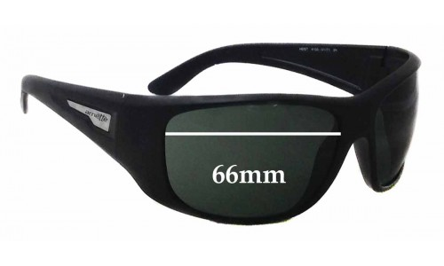 Sunglass Fix Sunglass Replacement Lenses for Arnette Heist AN4135 - 66mm wide