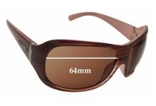 Sunglass Fix Sunglass Replacement Lenses for Arnette Myth AN4090 - 64mm Wide