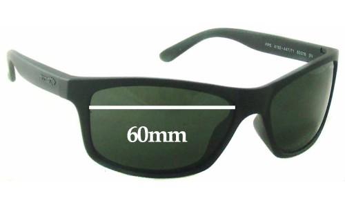 Sunglass Fix Sunglass Replacement Lenses for Arnette Pipe AN4192 - 60mm wide