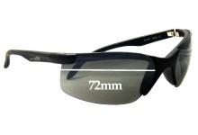 Sunglass Fix Sunglass Replacement Lenses for Arnette Point AN4026 - 72mm Wide