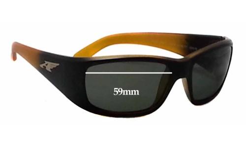 Sunglass Fix Sunglass Replacement Lenses for Arnette Quick Draw 4178 Sunglass Replacement Lenses- 59mm wide