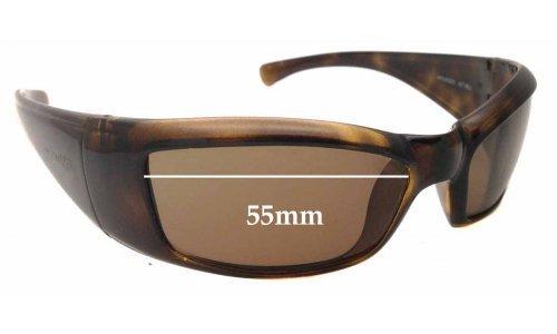 Sunglass Fix Sunglass Replacement Lenses for AN4025 Arnette Rage - 55mm wide