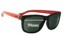 Sunglass Fix Sunglass Replacement Lenses for Arnette Slacker AN4196 - 59mm Wide