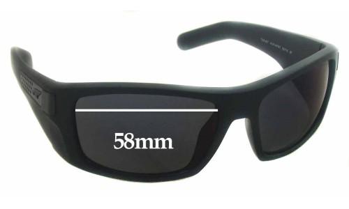 Sunglass Fix Sunglass Replacement Lenses for Arnette Two-Bit AN4197 - 58mm Wide