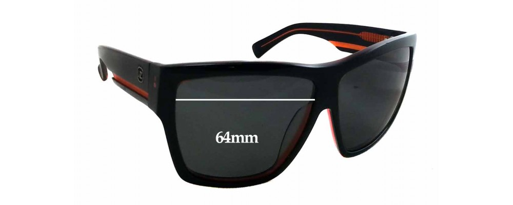 Sunglass Fix Replacement Lenses for Arnette Unknown Model - 64mm Wide