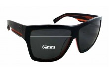 Sunglass Fix Sunglass Replacement Lenses for Arnette Unknown Model - 64mm Wide