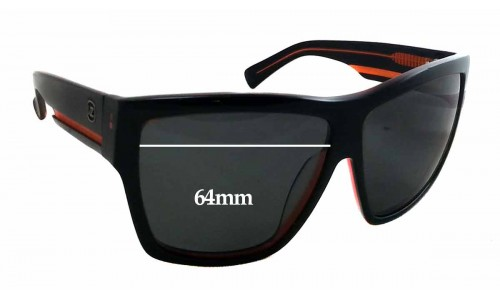 Sunglass Fix Sunglass Replacement Lenses for Arnette Unknown 64mm wide