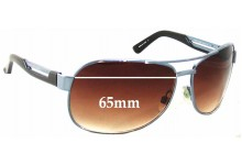Sunglass Fix Sunglass Replacement Lenses for Armani Exchange AX 051/S - 65mm Wide