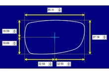 Sunglass Fix Sunglass Replacement Lenses for Arnette AN1023 - 65mm Wide