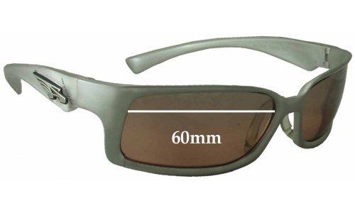 Sunglass Fix Sunglass Replacement Lenses for Arnette AN3038 - 60mm Wide