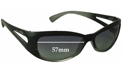 Sunglass Fix Sunglass Replacement Lenses for Arnette AN4056 - 57mm Wide