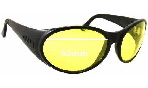 Sunglass Fix Sunglass Replacement Lenses for Arnette Hot Cakes - 63mm Wide