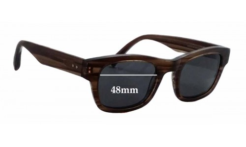 Sunglass Fix Sunglass Replacement Lenses for Bailey Nelson Kipling - 48mm Wide