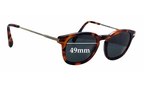 Sunglass Fix Sunglass Replacement Lenses for Bailey Nelson Mutual Friend - 49mm Wide