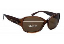 Sunglass Fix Sunglass Replacement Lenses for Bebe - 56mm Wide x 39mm Tall