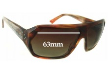 Sunglass Fix Sunglass Replacement Lenses for Blinde The Facilitator Model - 63mm Wide