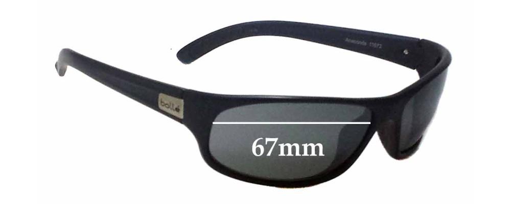 04b26dadb6 Bolle Anaconda 11672 Sunglass Replacement Lenses - 67mm Wide ...