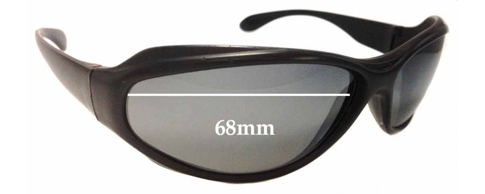 f2bce01302 Bolle King Sunglass Replacement Lenses 68mm wide
