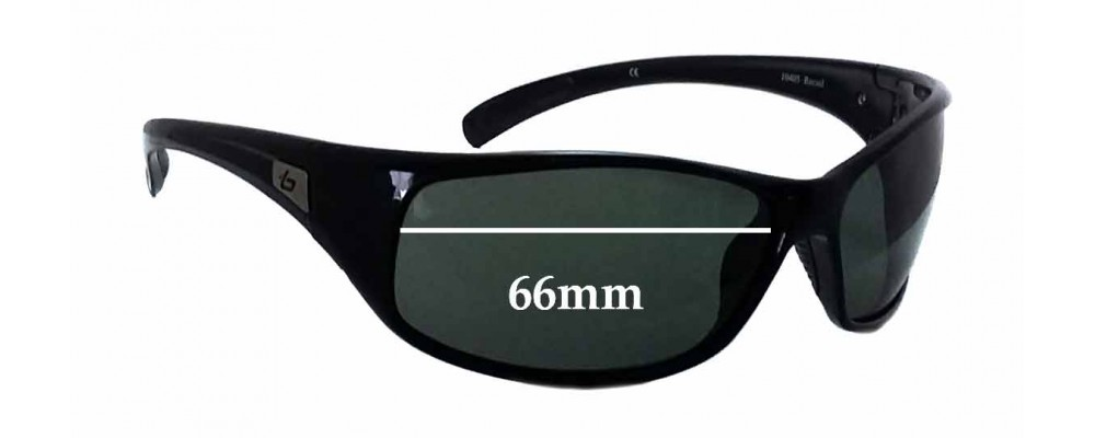 1bb6d1f598b84 Bolle Recoil 10405 Sunglass Replacement Lenses - 66mm wide ...