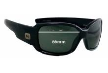 Sunglass Fix Sunglass Replacement Lenses for Buch Deichmann 4563 - 66mm Wide x 41mm Tall