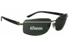 Sunglass Fix Sunglass Replacement Lenses for Bvlgari 5004 - 65mm Wide